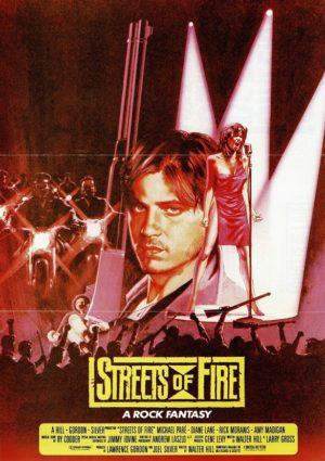 Streets of fire UK flyer