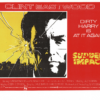 Sudden Impact UK Window Card with Clint Eastwood