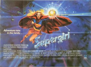 Supergirl UK Quad Poster