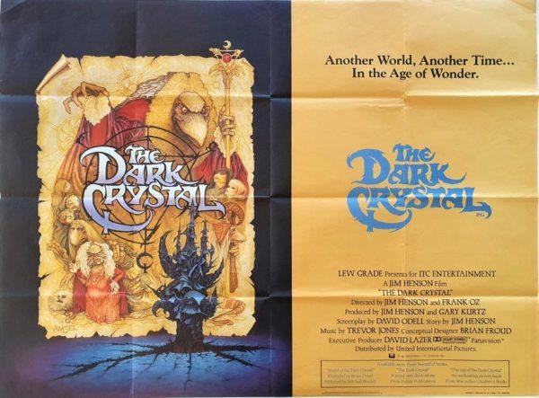 The Dark Crystal UK Quad Poster