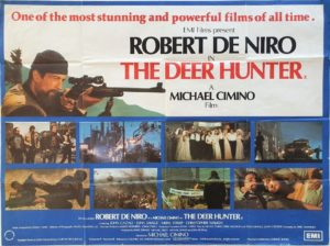 The Deer Hunter UK Quad Poster with Robert De Niro