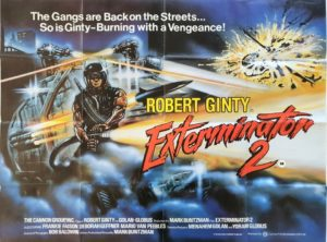 The Exterminator 2 UK Quad Poster
