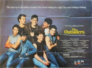 The Outsiders UK Quad Poster with Tom Cruise and Patrick Swayze (2)