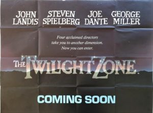 The Twilight Zone UK Quad Poster