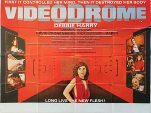 Videodrome UK Quad Poster with Debbie Harry and James Woods (7)
