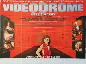 Videodrome UK Quad Poster with Debbie Harry and James Woods (7)