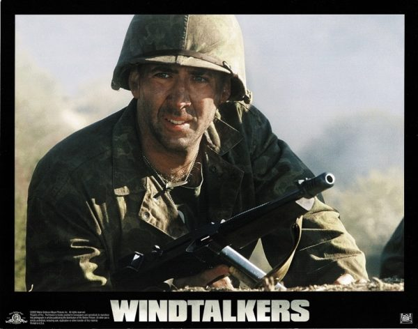 Windtalkers US LObby Cards with Nicolas Cage