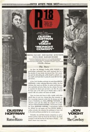 midnight cowboy Australian and NZ press sheet