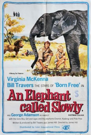 An Elephant Called Slowly UK One Sheet Movie Poster