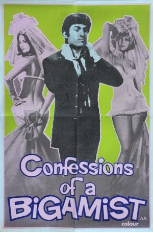Confessions of a Bigamist UK Double Crown poster