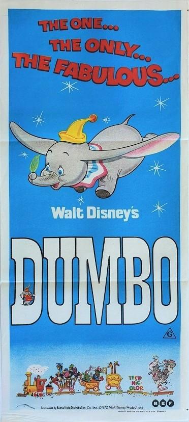 Dumbo australian daybill poster