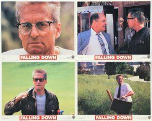 Falling Down Lobby cards Michael Douglas