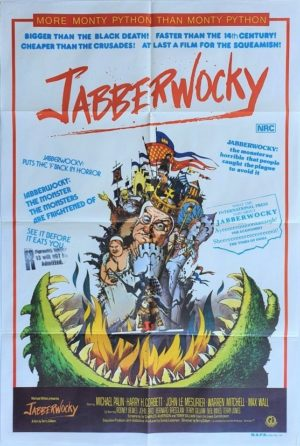 Jabberwocky Australian One Sheet Poster Monty Python (3)
