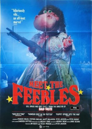 Meet The Feebles New Zealand One Sheet poster by Peter Jackson