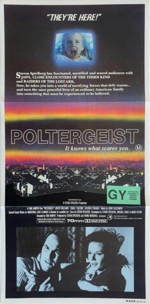 Poltergeist australian daybill poster