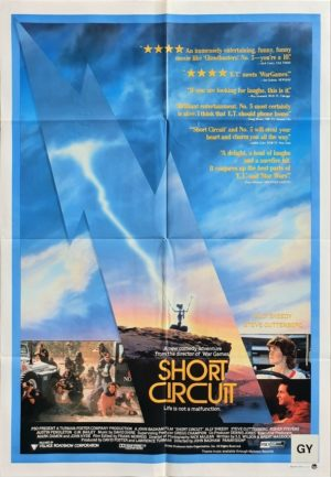 Short Circuit Australian One Sheet movie poster