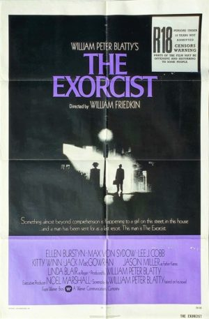 The Exorcist US One Sheet movie poster