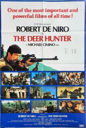 The Deer Hunter UK One Sheet Movie Poster