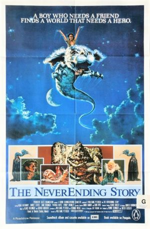 The NeverEnding Story Australian One Sheet movie poster
