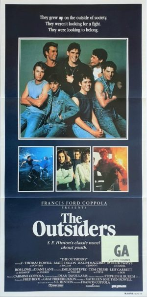 The Outsiders australian daybill poster