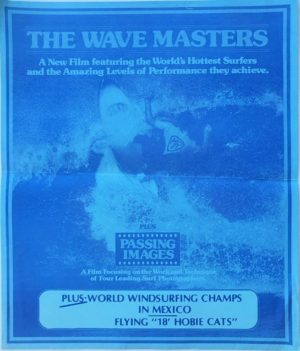 The Wave masters surfing NZ window card