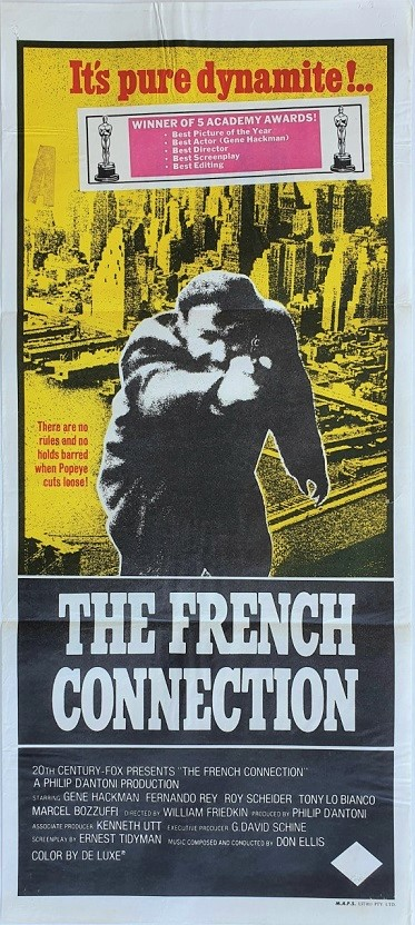 The french connection australian daybill poster