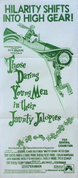 Those daring young men australian daybill poster
