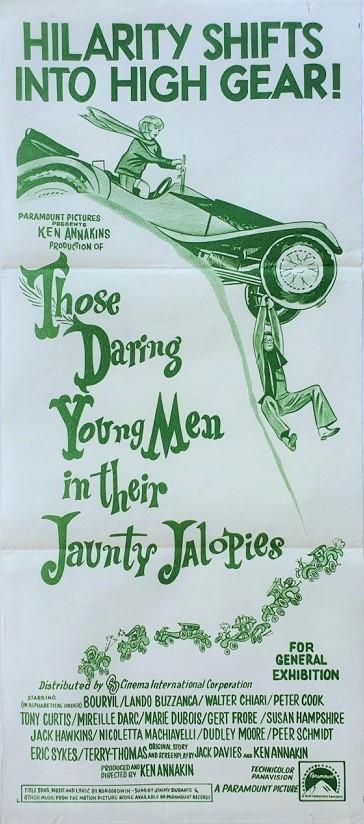Those daring young men australian daybill poster