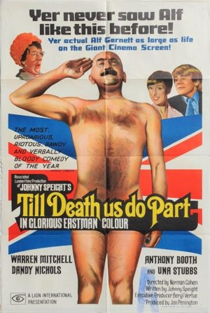 Till Death Us Do Part Alf Garnett Australian One Sheet movie poster
