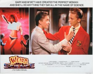 Weird Science UK Lobby Card