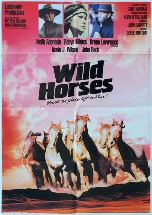 Wild Horses New Zealand One Sheet poster