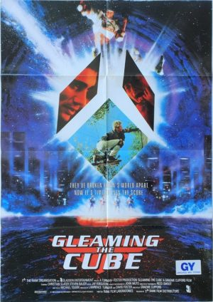 Gleaming the cube New Zealand One Sheet skateboarding poster 1989