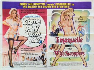 Come play with me UK Quad poster by Tom Chantrell (2)