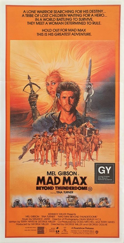 Mad Max Thunderdome Australian Daybill poster