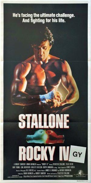 Rocky 4 IV Australian Daybill poster