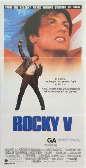 Rocky 5 V Australian Daybill poster