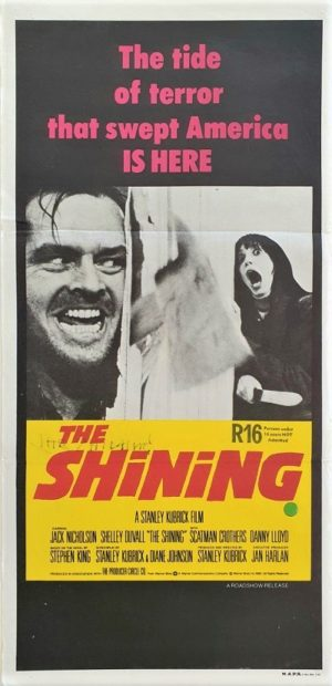 The Shining Australian Daybill poster
