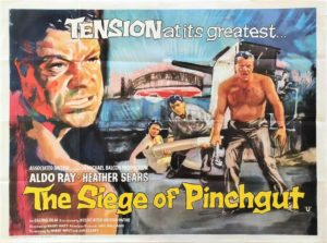 the siege of Pinchgut Uk Quad poster