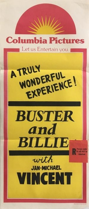 Buster and Billie Australian Daybill Poster with Jan-Michael Vincent