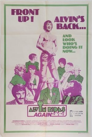 Alvin Rides Again Australian One Sheet movie poster