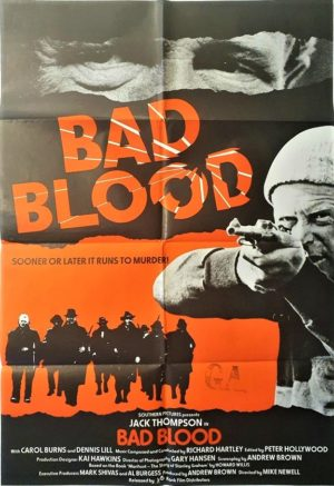 Bad Blood NZ One Sheet movie poster (3)