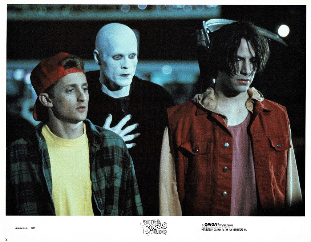 Bill and Ted's Bogus Journey US Lobby Card 1991 with Keanu Reeves