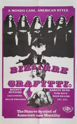 Bizarre Grafitti Mondo Cane Australian daybill poster
