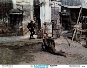 Butch Cassidy and the Sundance Kid US Lobby Card 1969 with Robert Redford and Paul Newman