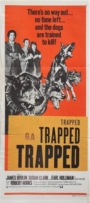 Doberman Patrol Trapped Australian Daybill Poster