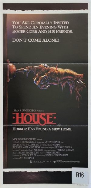 House Australian daybill movie poster (1)