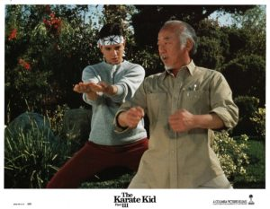 Karate Kid 3 US Lobby Card Set (2)