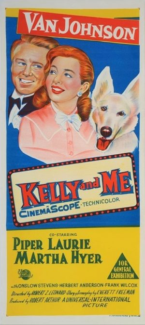 Kelly and me Australian daybill movie poster (1)