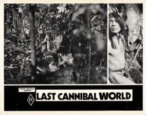 Last Cannibal World Ultimo mondo cannibale Australian Lobby Card 9