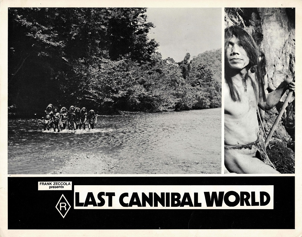 Last Cannibal World Ultimo mondo cannibale Australian Lobby Card